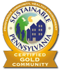 Gold Certified  Sustainable PA Community